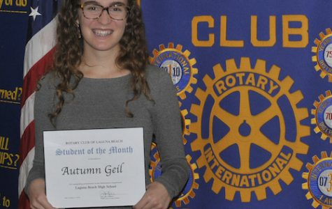 Rotary Student of the Month: Autumn Geil