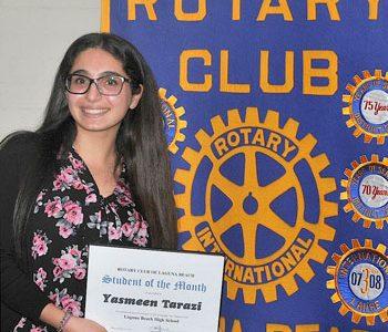 Rotary Scholar of the Month: Yasmeen Tarazi