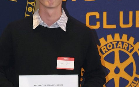 Rotary Scholar Student of the Month: Liam Duncan