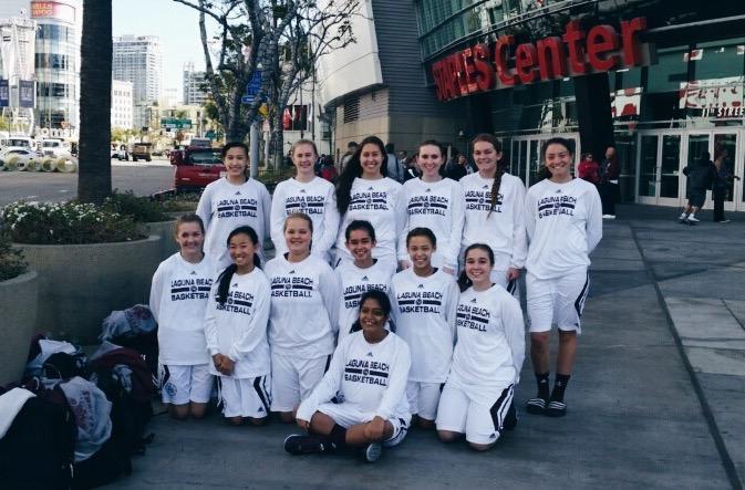 Girls Basketball takes on Staples Center