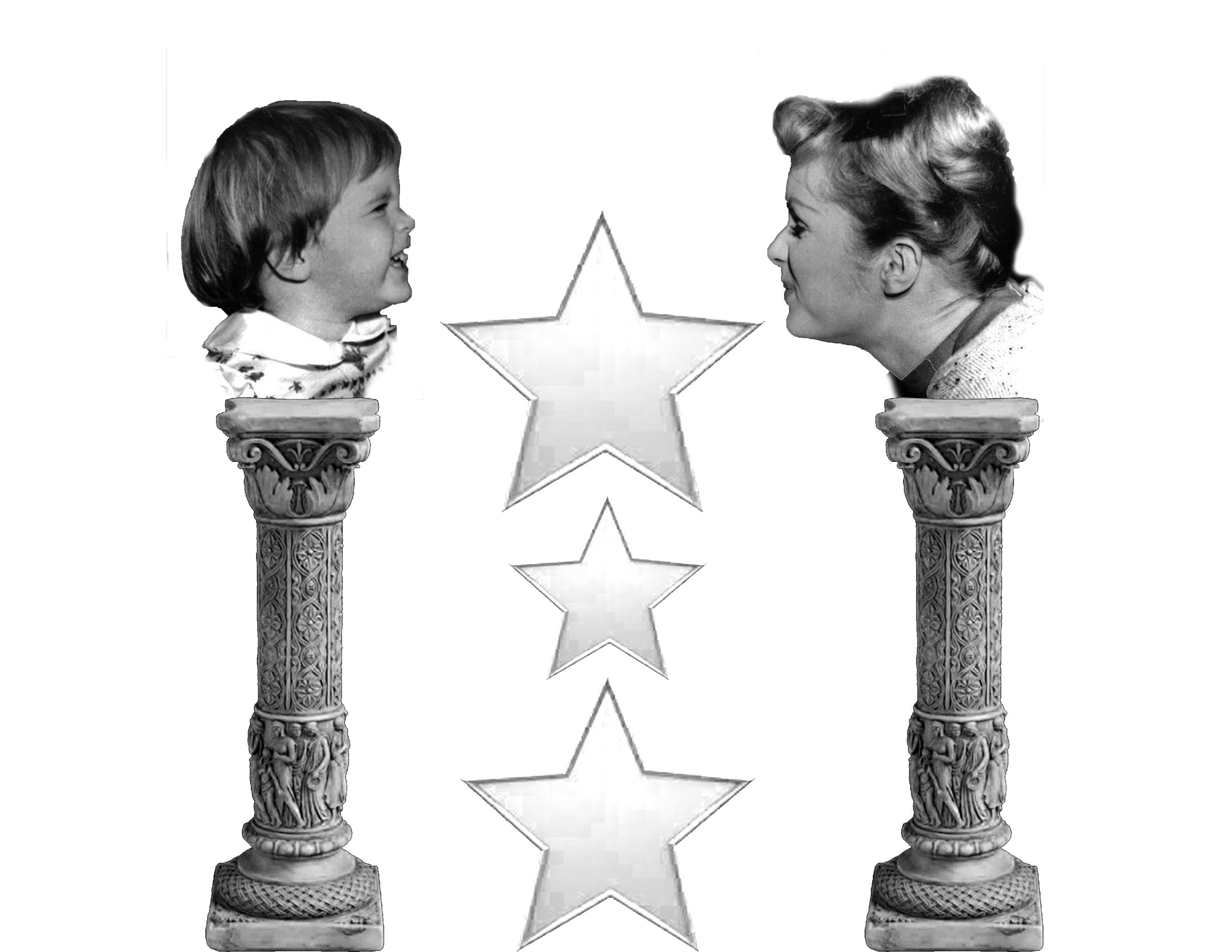 Debbie Reynolds and her daughter Carrie Fisher were held on pedestals by many. However, this is not an accurate way to think of a famous person.