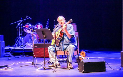 """Gary """"Shap"""" Shapiro performs his music once again at the Brush and Palette concert. Shapiro was among five return acts from prior years' performances."""