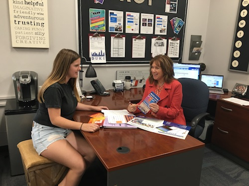 Students take rigorous steps towards college career