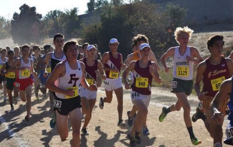 Co-ed cross country represents LBHS statewide
