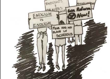 Students walk toward empowerment