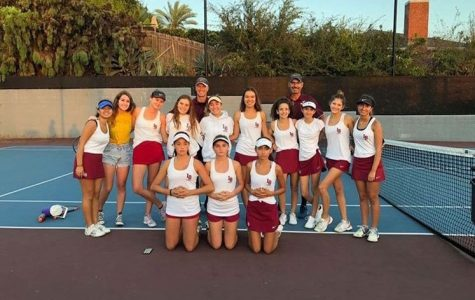 Girls tennis places 2nd in CIF