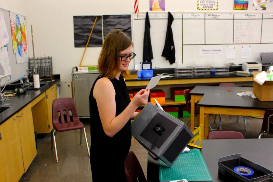 Students embrace new challenges through engineering class