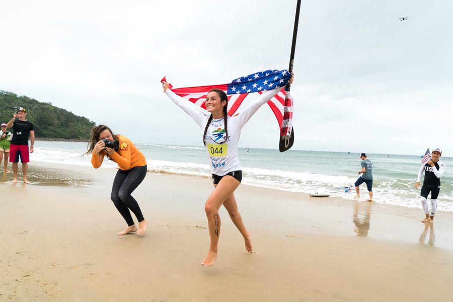 Standup+paddleboarder+Jade+Howson+wins+international+gold