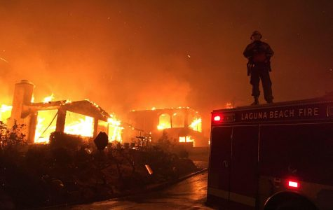 Laguna Beach fire fighters helping to battle the recent Thomas Fire in Venutra California. LBFD members travel all over California to fight wildfires.