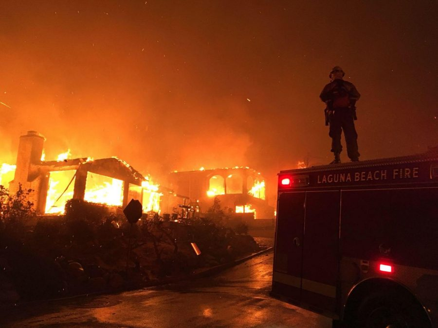 +Laguna+Beach+fire+fighters+helping+to+battle+the+recent+Thomas+Fire+in+Venutra+California.+LBFD+members+travel+all+over+California+to+fight+wildfires.