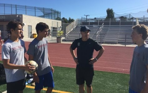 State-winning LBHS coach Andy Thomas makes his return to the pitch