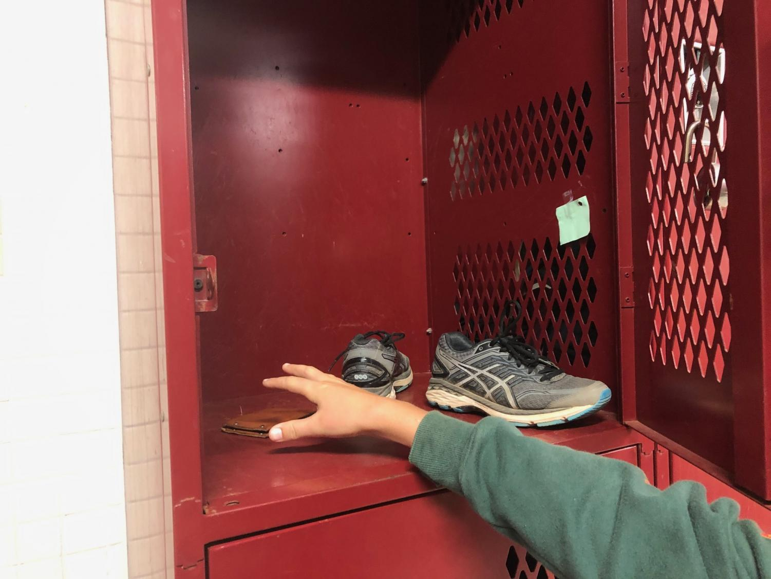 Every male athlete has access to the lockers under the Duggar Gym to store their clothing and equipment. Student theft is a recurring issue; numerous students experienced similar thefts last year as well.