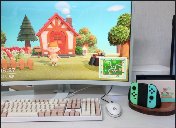 Animal+Crossing+is+playable+on+almost+any+screen+that+you+connect+to+your+Nintendo+Switch.+The+game+is+also+only+available+on+the+Nintendo+Switch.