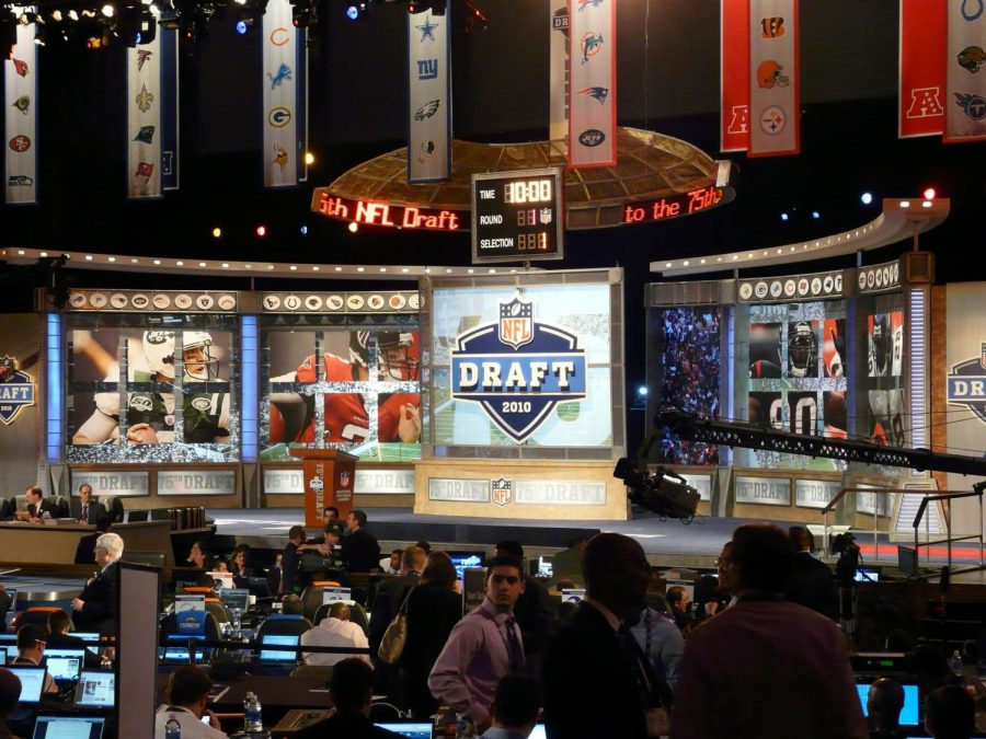 In past years the draft has been held in person in places such as Radio City Music Hall. This year, due to the Coronavirus, the draft will be broadcasted from home.