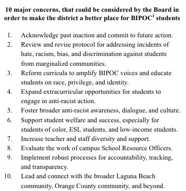 LBUSD alumni oppose racism in schools