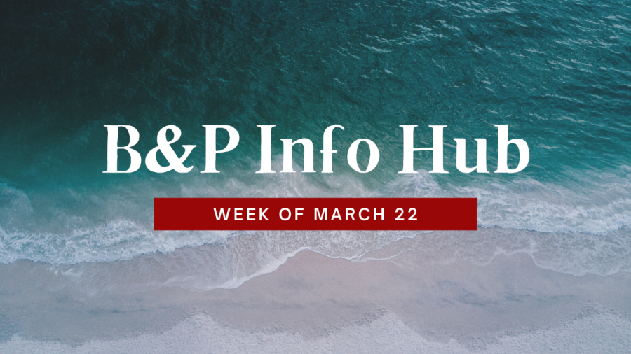 In Case You Missed It: Week of March 22nd