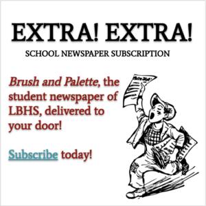 $20 Newspaper Subscription: 2021-22 School Year